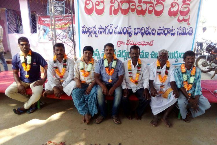 This Telangana village has been on a 150-day-fast against a reservoir project