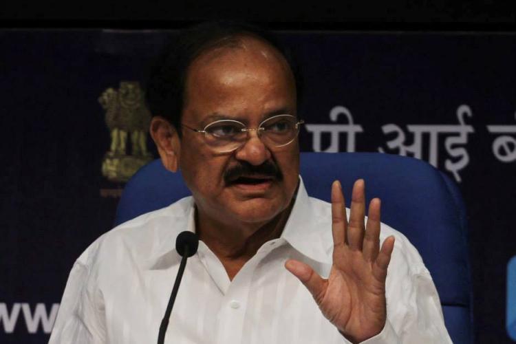 MIM polarising people on communal lines Venkaiah on Owaisis beef statement