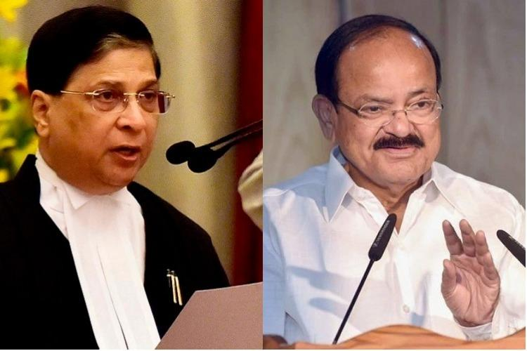How Venkaiah Naidu has justified rejecting impeachment motion against CJI Dipak Misra