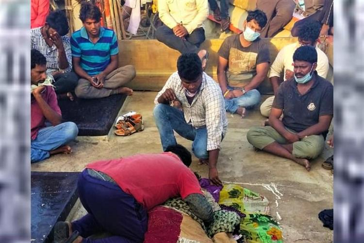 We fear well die AP fishermen stranded in Gujarat forced to remain on boats