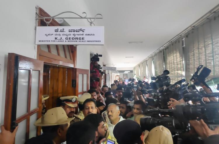 How the Congress plunged Vidhana Soudha into chaos for two hours to save their govt