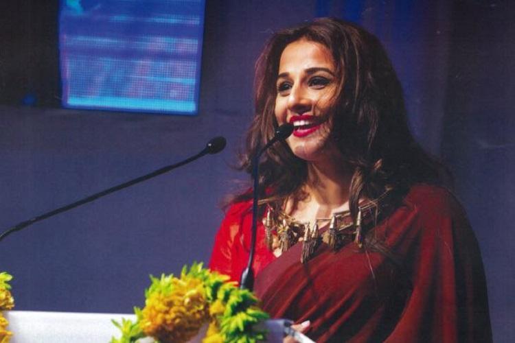 Name and shame sexual harassers says Vidya Balan