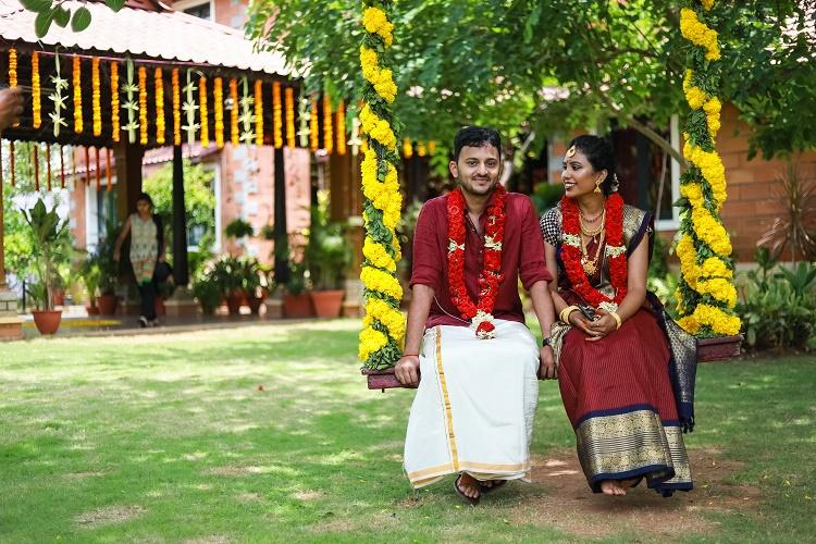 Chennai duo shows how fairytale weddings can be green and completely trash-free