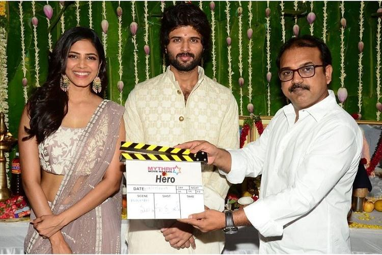 Vijay Deverakondas upcoming flick Hero shelved