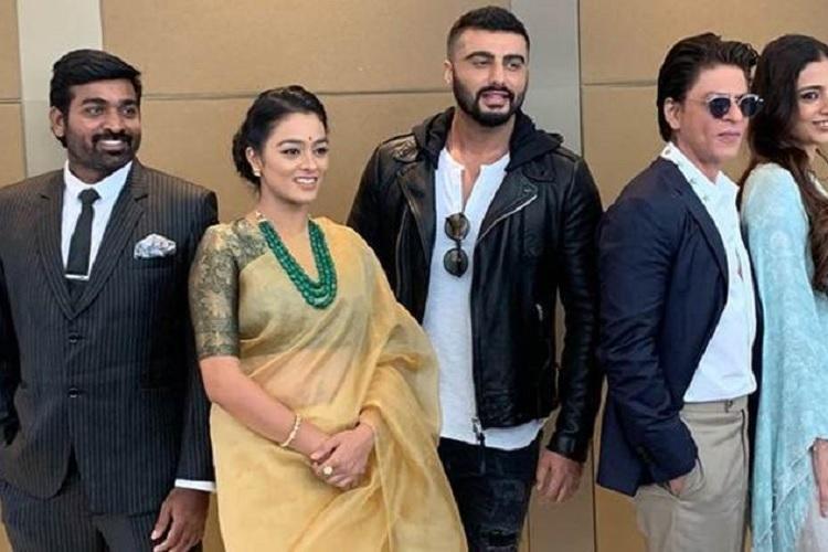 Vijay Sethupathi bags global award
