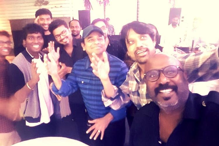 Vijay throws big bash for Mersal success Guess who all attended