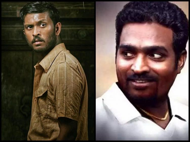 800 movie cast shown in a collage Vijay sethupathi is seen wearing a white T shirt