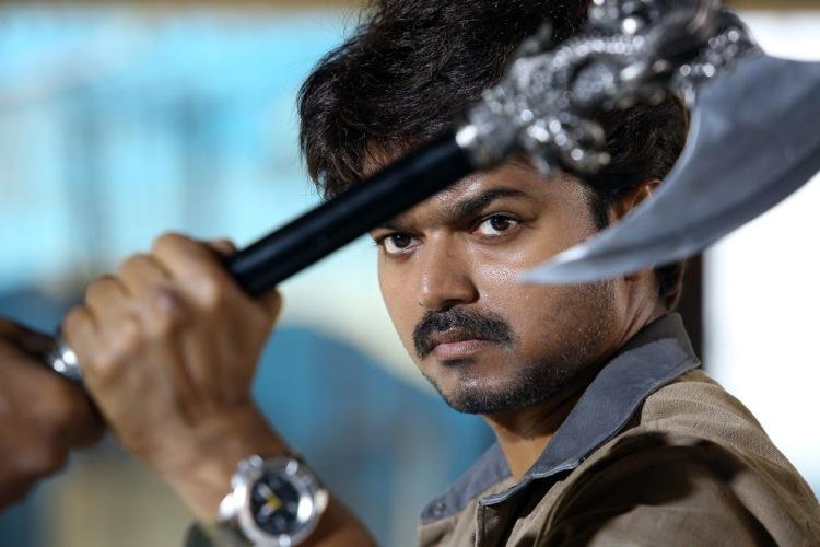 In images Special photos from Vijays upcoming film Bairavaa