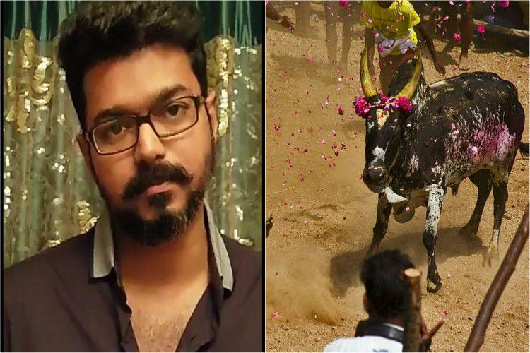 The Support For Jallikattu Has Intensified The Scenes From Marina Beach In Chennai Since Tuesday Where Protesters Stayed Overnight In A Peaceful