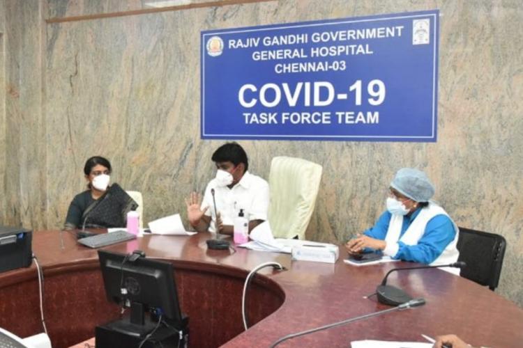 TN slum clearance board tenement converted into 1400-bed COVID-19 care centre