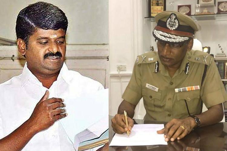 Gutkha scam DMK demands resignation of TN DGP Health Minister
