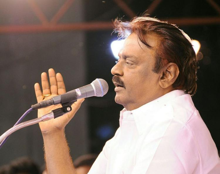 DMDK Chief Vijayakant admitted to Miot Hospital in Chennai party says its regular check-up