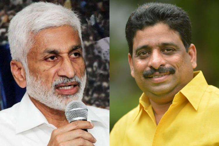 YSRCP MP and TDP MLC get into Twitter spat over demolition notice to Naidus residence
