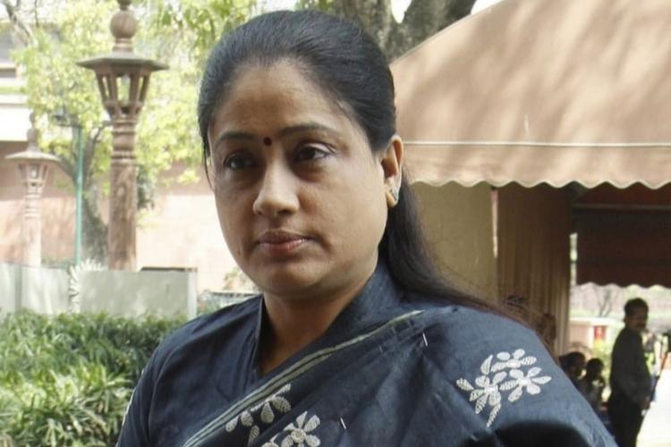 Telugu actor Vijayashanthi