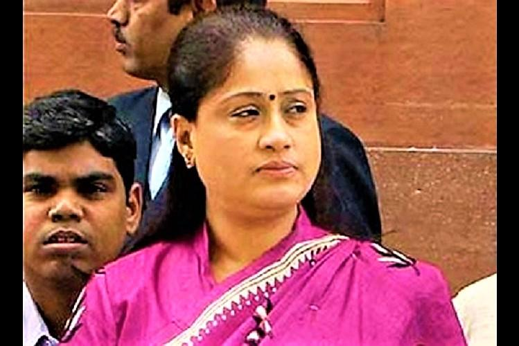 Why no women on welcome posters for Sonia Gandhi Cong leader Vijayashanti asks