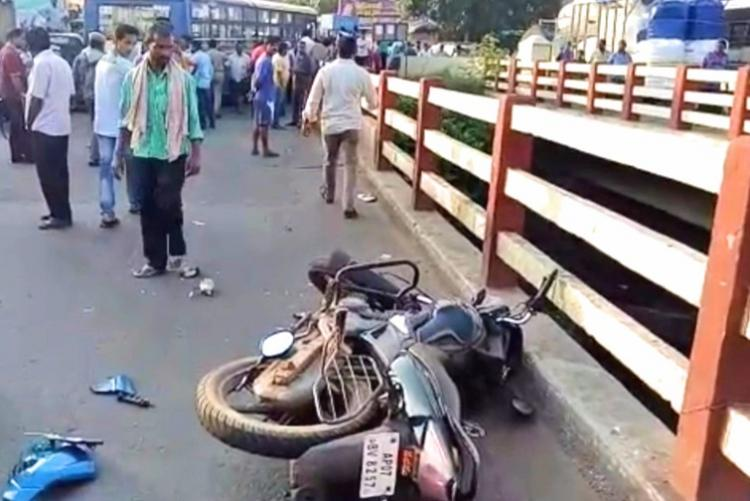 3 people mowed down as Andhra bus brake fails Shocking video raises serious questions