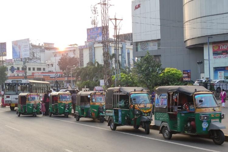 Taken over by share autos Vijayawadas bus service is long due for an overhaul