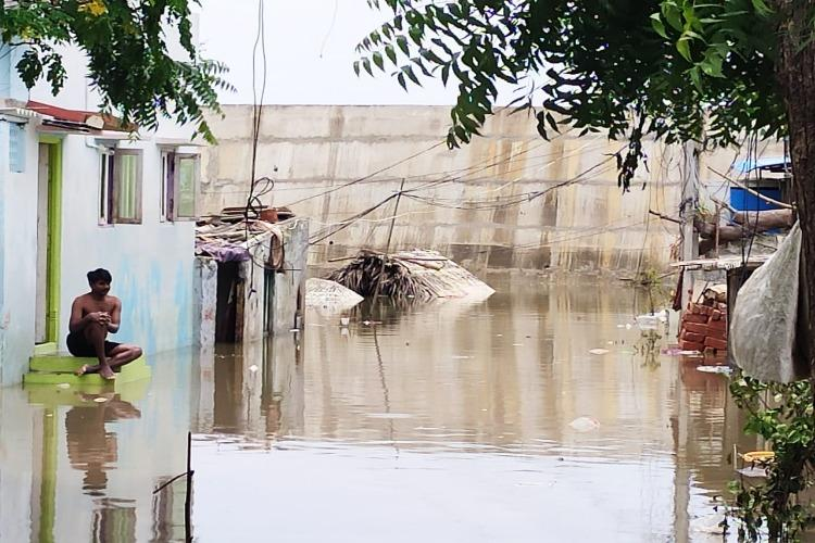 Cant afford to leave Homes under water Vijayawada residents rue govt apathy