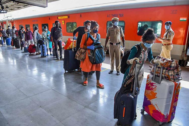 No physical distancing in train fleeced at paid quarantine hotels Chennai returnees