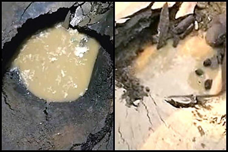 Road laid for Krishna Pushkaralu caves in at Vijayawada causing traffic woes