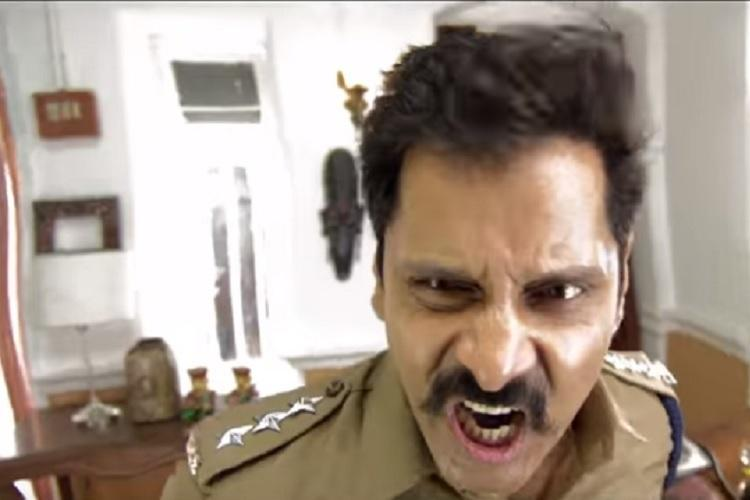 Saamy Square second trailer out How many lozenges did Vikram take after dubbing