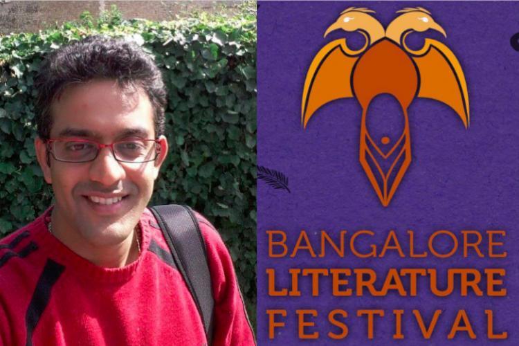Bangalore Lit Fests Vikram Sampath is a little PR muffin says Bengaluru writer