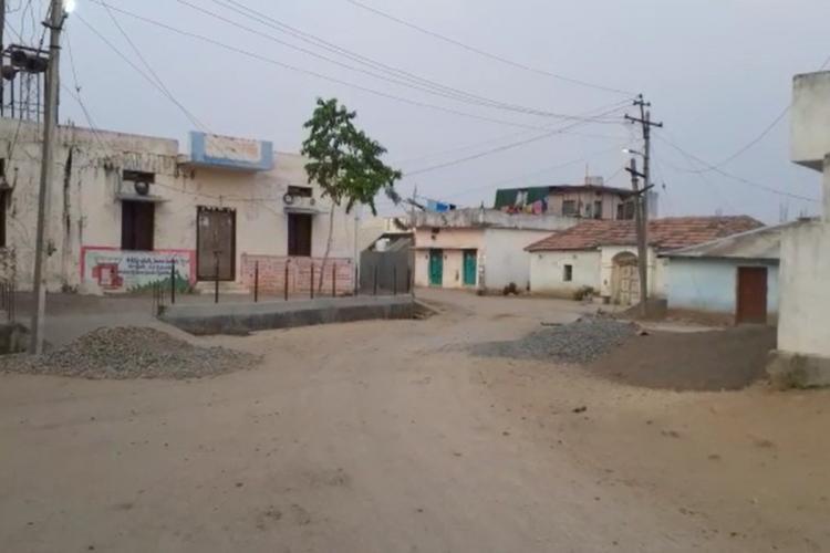 Sarangpur village in Nirmal wearing a deserted look