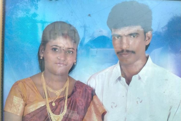 Vimaleswari and Mohanraj couple photo The couple ended their lives after killing their three children in Tamil Nadu due to alleged financial troubles