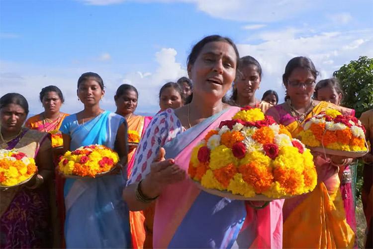 Vimalakkas Bathukamma song is a celebration and a protest to save Nallamala