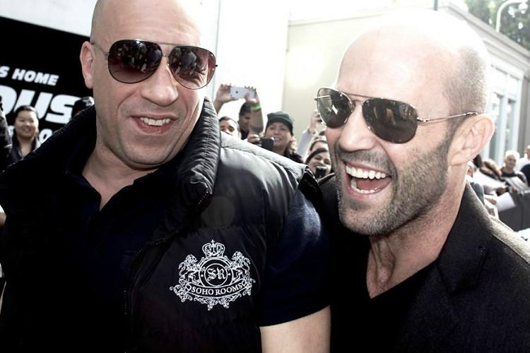Vin Diesel and Jason Statham playing dandiya is the best thing youll see this Navratri