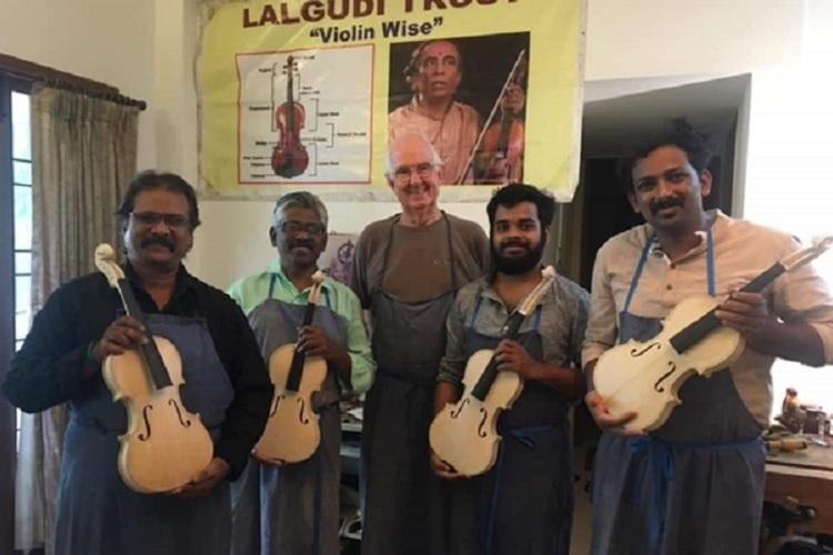 Making a violin from scratch Meet the craftsmen whove set a milestone in Indian music