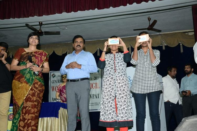 GHMC partners with Hyd startup Virtual Raasta to launch VR-based polling booths