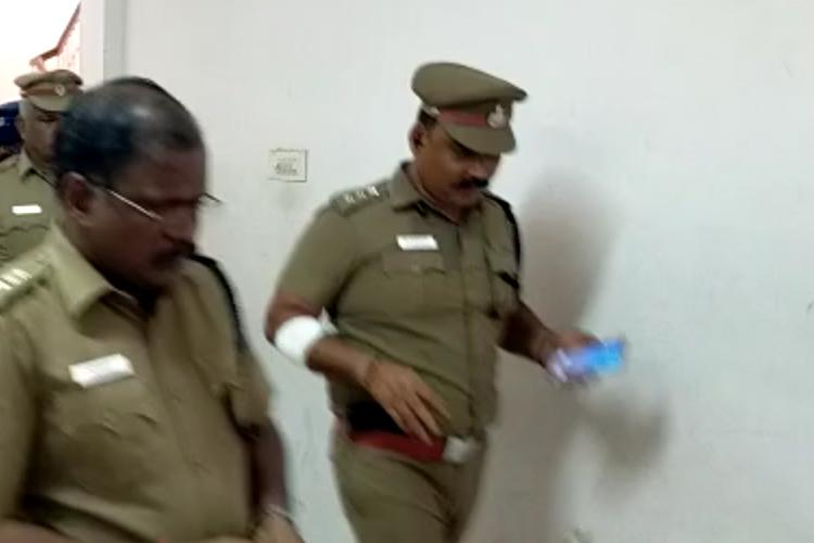 TN cop on duty for local body polls attacked arm hacked by gang