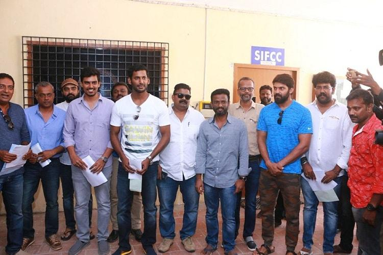 Why has Vishal decided to contest the Producers Council elections