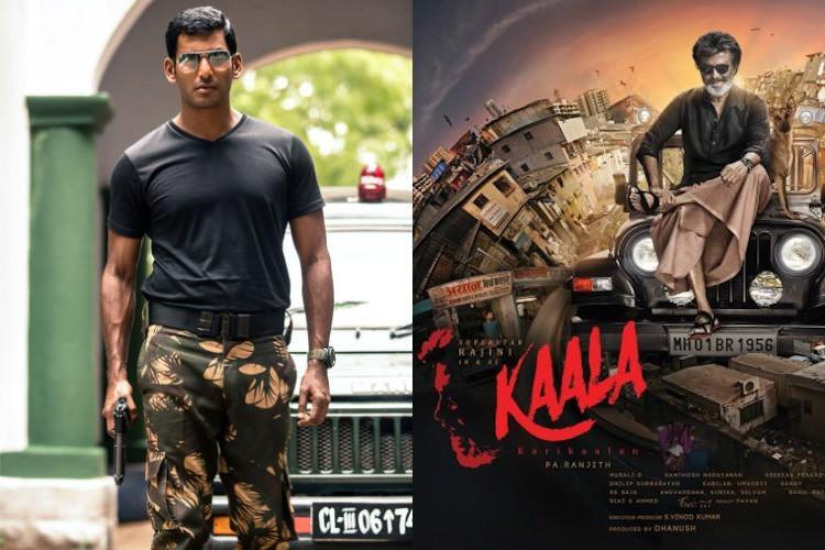 Actor Vishal slams Kaala ban urges Ktaka Film Chamber to resolve issue