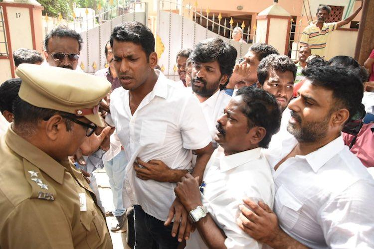 Producers Council spat Members question police intervention Vishals arrest