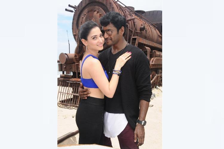 Vishal and Tamannaah fly to Turkey for their upcoming film