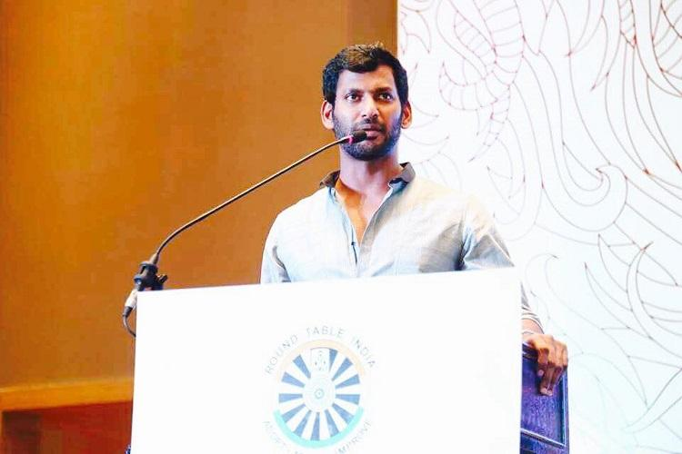 TN film producers accused Vishal of misappropriating funds