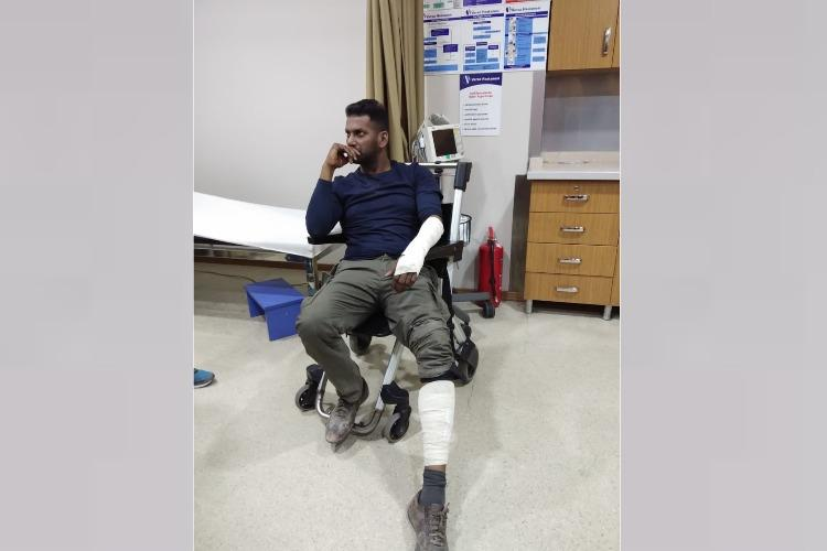 Vishal injured in a bike accident while filming in Turkey