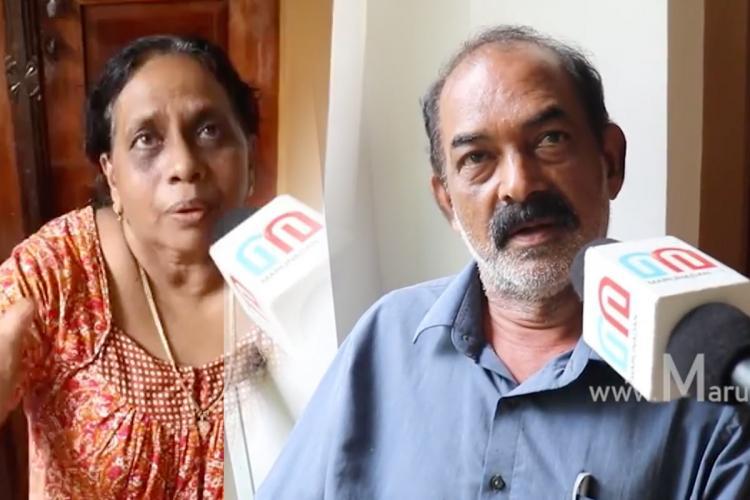 Vismaya's in laws speaking to a media house