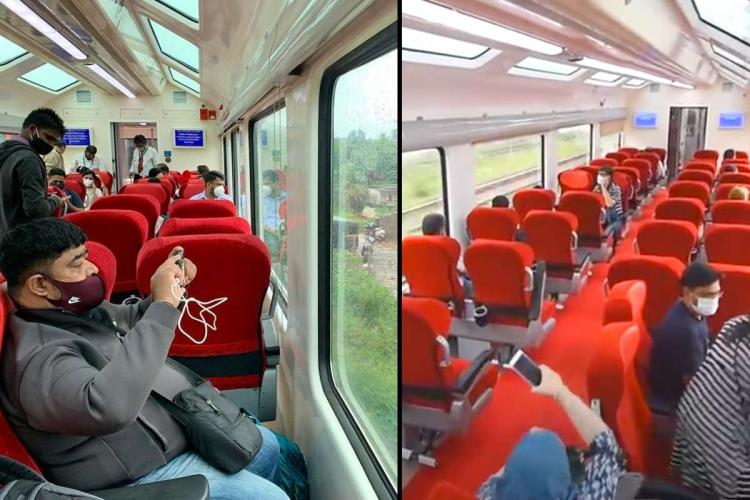 New vistadome coaches on Mangaluru-Bengaluru train