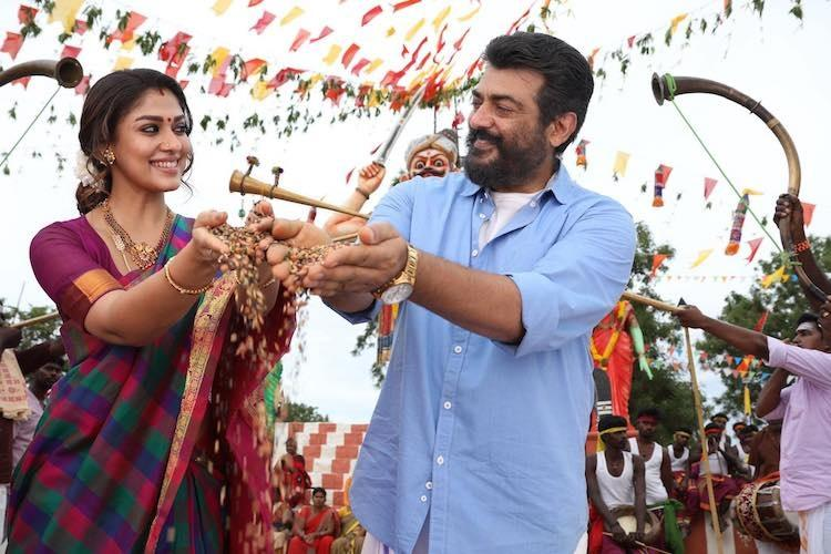 Viswasam review If you forget logic Ajiths film is passable