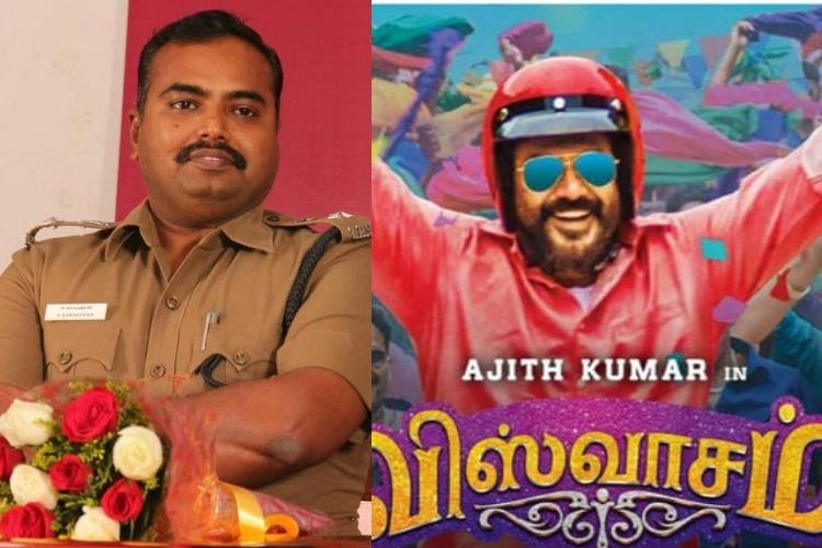 Chennai DCP commends importance given to road safety in Ajiths Viswasam