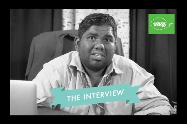 Watch Viva Harshas hilarious take on corporate interviews thats going viral
