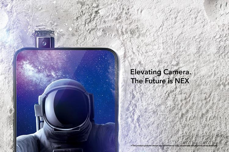 Vivo launches 659-inch Vivo Nex in India with pop-up selfie camera