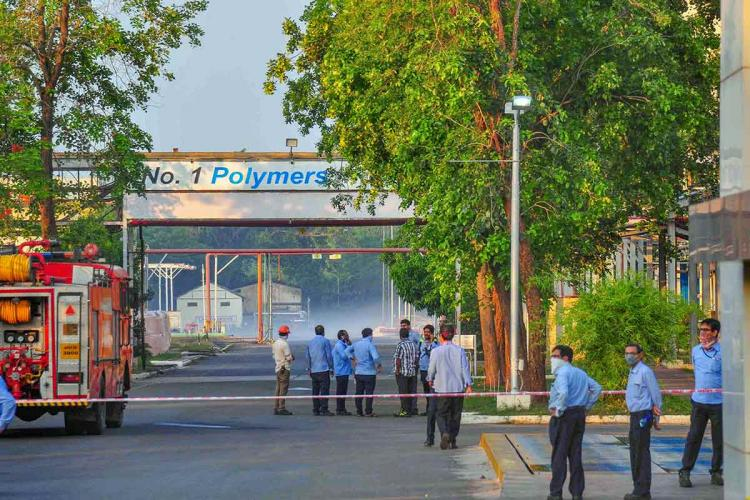 The LG Polymers plant in Visakhapatnam where a gas leak took place