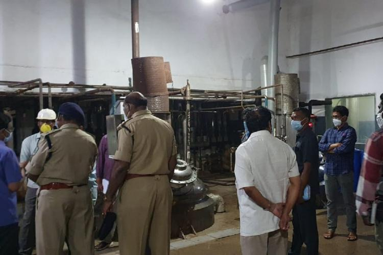 Vizag pharma unit where gas leak killed two saw similar tragedy in 2015