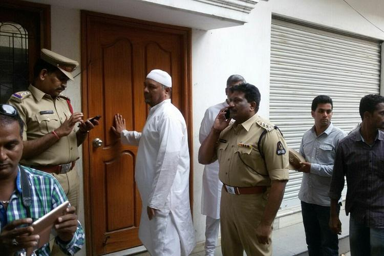 Hyderabad child bride racket Cops raid tainted qazis Mumbai office seize marriage records