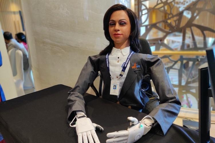 Meet Vyommitra ISROs first humanoid prototype to be sent into space