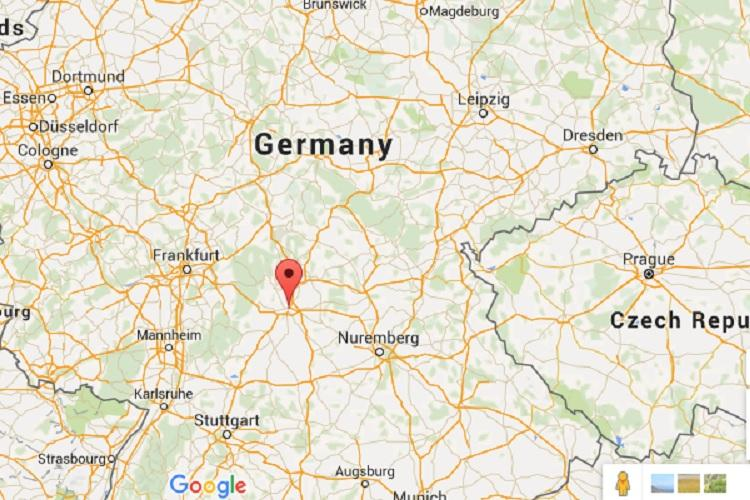 Several injured in attack on train near Wrzburg southern Germany